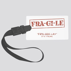 FRA-GI-LE [A Christmas Story] Large Luggage Tag